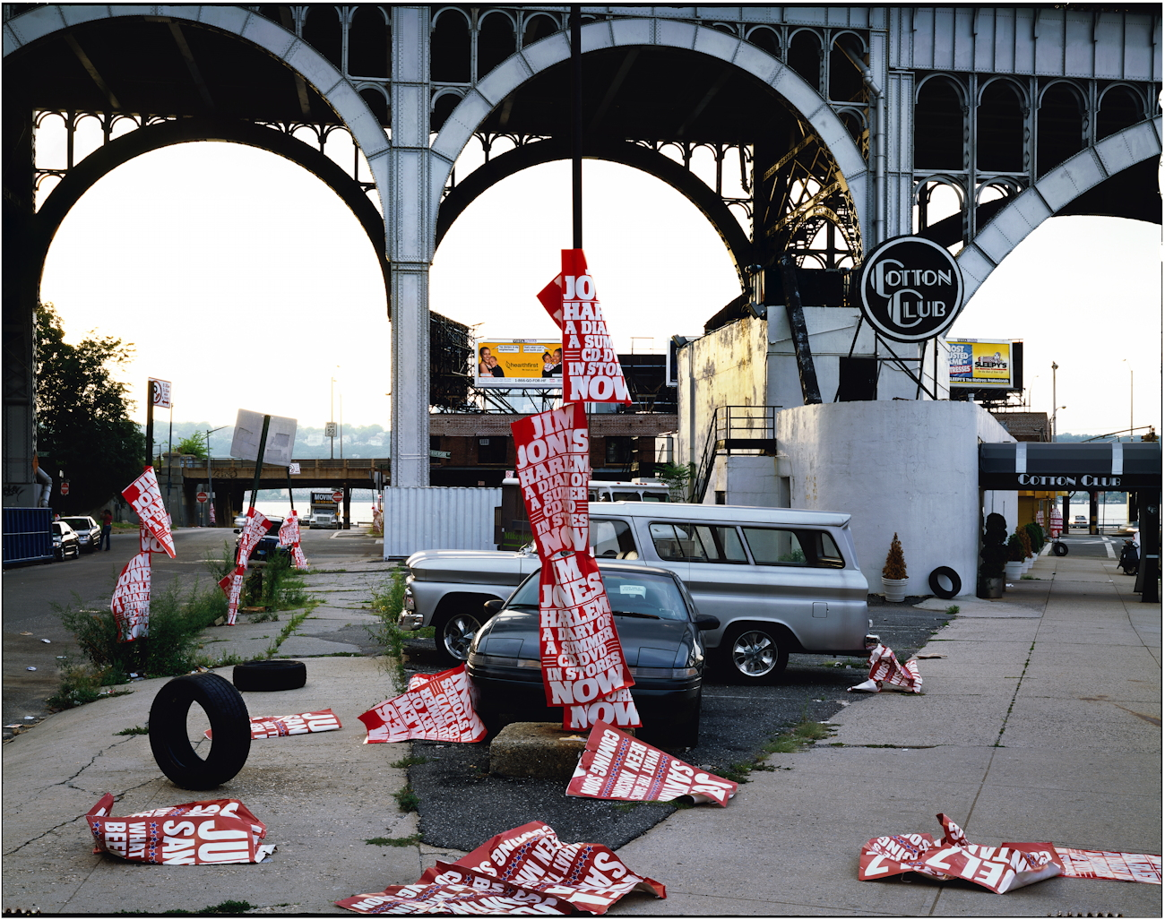 125th Street and West Side Highway, New York City, 2002