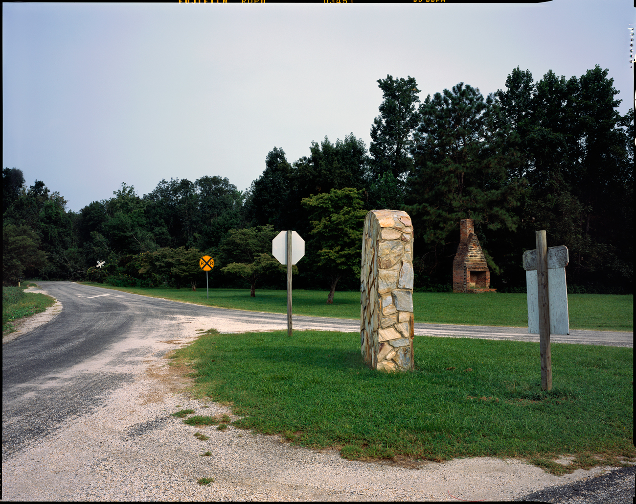Entrance to the Pamunkey Indian Reservation, King William, Virginia 2006