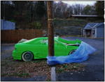 Painted car, upstate New York, 2005