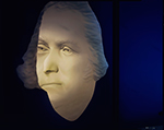 Three dimensional projection, Mount Vernon, Virginia, 2016