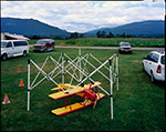 Model airplane show, Cement, Washington, 2004